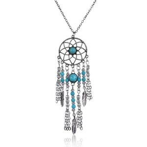 Jewelry - ‼️3 for 20$‼️Boho Feather Dreamcatcher Necklace